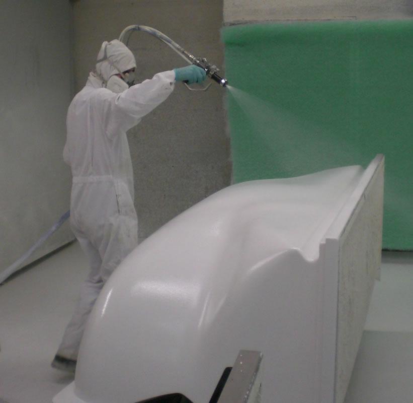 El gel coat - fibraplus